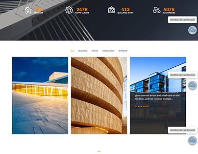 CONSTRUCTION WORDPRESS WEBSITE