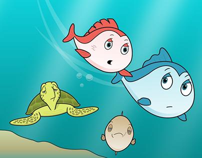 """A Fish's Life"" Comic Book"