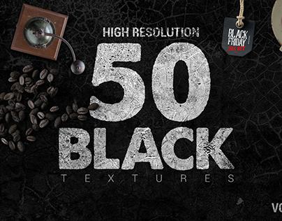 50 Black Textures vol.2
