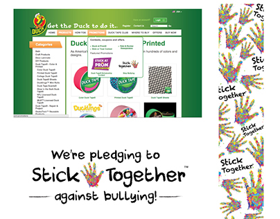 Duck Tape Anti Bullying Campaign