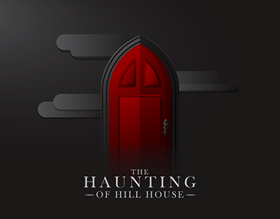 Flat Design - The Haunting of Hill House