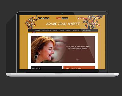 Site WordPress Ariane Gray Hubert