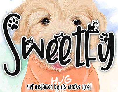 Free Sweetfy Display Font