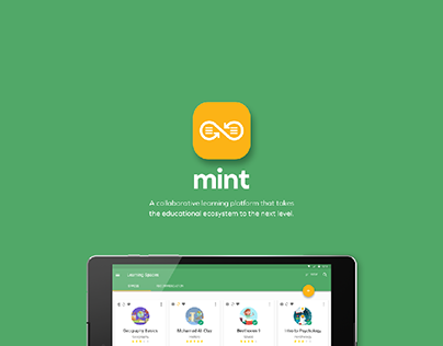 Mint - Collaborative learning App