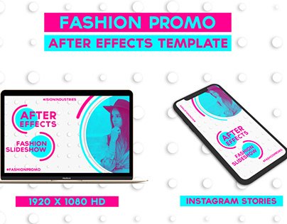 Circles Fashion Promo Template