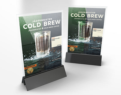 Jägermeister ColdBrew promotional assets