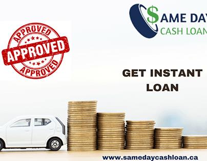 Apply loan? Same day cash