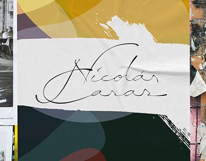 Nicolás Casas - Vegan Bakery /Brand Identity Design