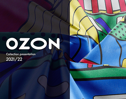 Ozon. Collection presentation 2021/22. Merch.