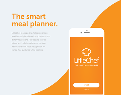 LittleChef App Design