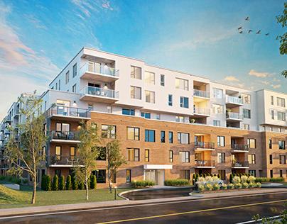 Perspectives 3D et plans de vente - LOGGIA Saint-Hubert
