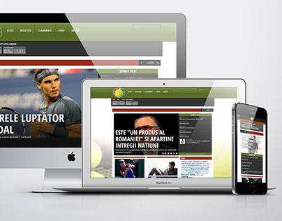 Tennis news website
