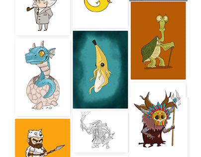 saramj.com Daily Sketches