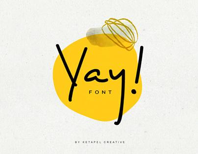 Yay! Font