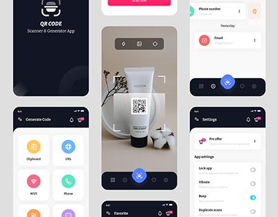 QR Code Scanner & Generator App