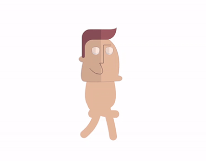 Man Walking Animation