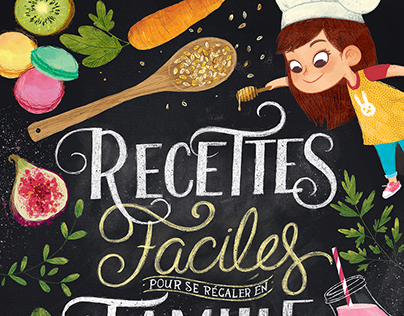 Children's Cookbook for Fleurus Editions