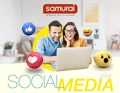 Samurai - Social Media 2018