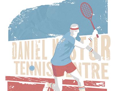 Daniel Nestor Shirt Design