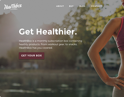 Health Box: Redesign