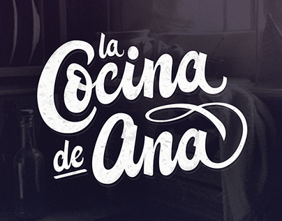 "Lettering project. ""La Cocina de Ana"""