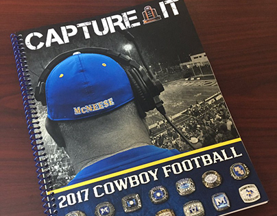 2017 McNeese Football Media Guide Cover