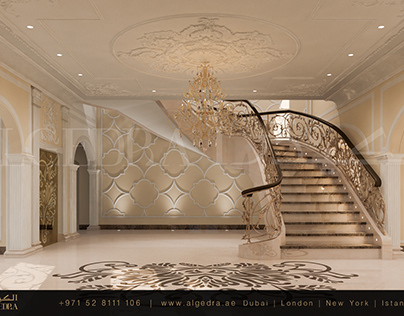 Neo classic Villa Entrance Design