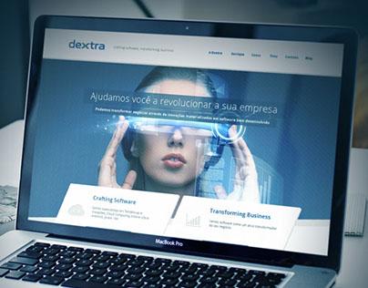 Dextra - Website Concept