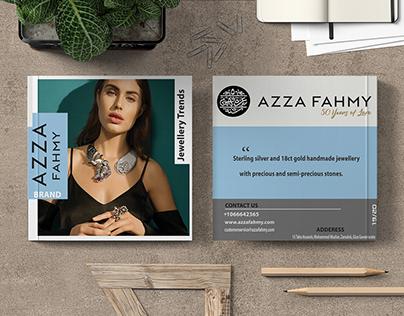 Azza Fahmy/cover magazian