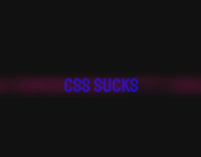 CSS Sucks Animation