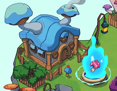 Mushroom Village
