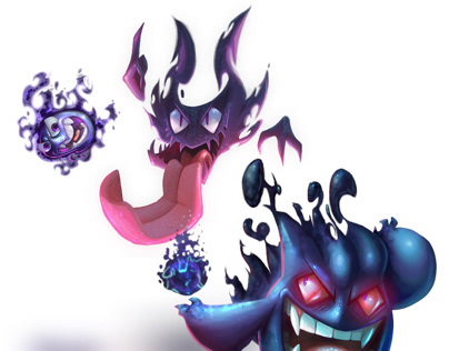 Gastly evolutionary line