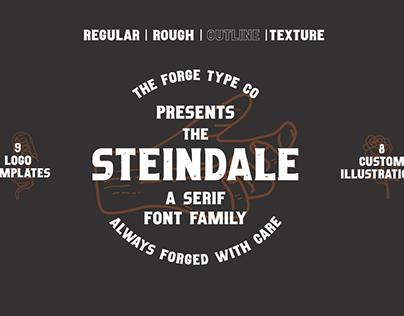Steindale - Vintage Serif Font