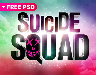 Suicide Squad Cinematic Text Effect (FREE)