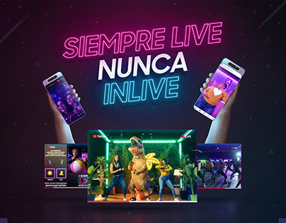 Samsung - Siempre live, nunca inlive.