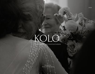 KOLOLOVE - wedding production website