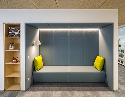 Paulig Group Office interior
