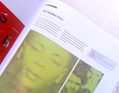Mito Pointillisme Vision / published on Choi's Magazine