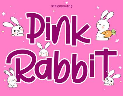 PLAY FULL FONT | PINK RABBIT