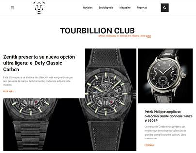 Web Blog Tourbillion - Octonove