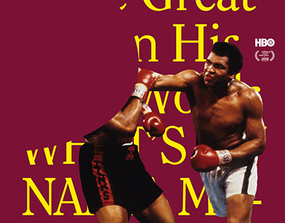 Muhammed Ali Film Screening Posters