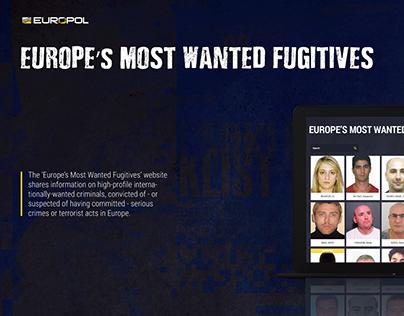 EU Most Wanted Fugitives