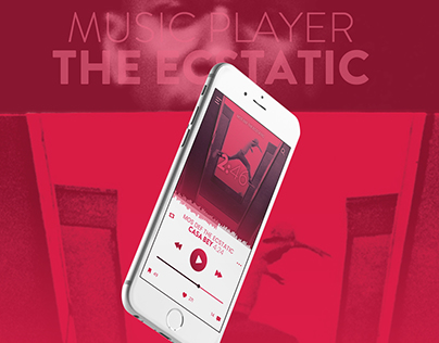"""Music Player """"THE ECSTATIC"""""""