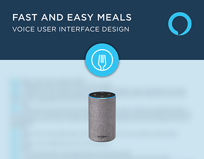 Fast and Easy Meals - Voice User Interface (VUI)
