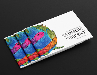 Rainbow Serpent, Illustration Book