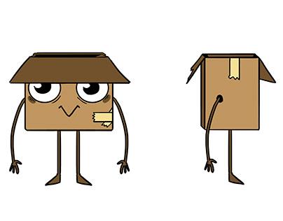 Animación y diseño de personaje Festival Cartón 2019
