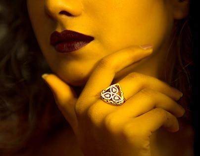 ciyaza rose gold jewellery