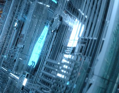 Concept Enviropment Sci-Fi