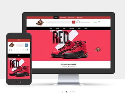 Life kickz - E-commerce Website