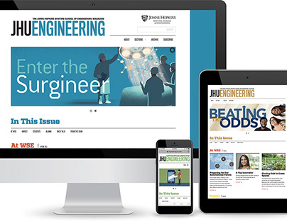 JHU Engineering: Editorial Design and Direction